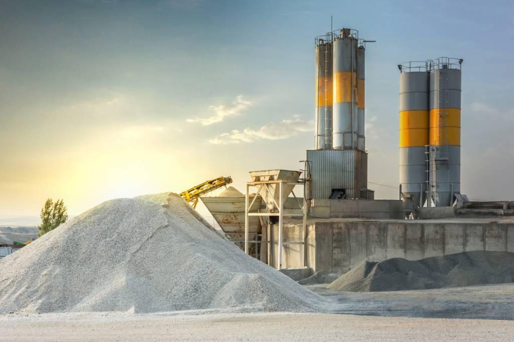 production centrale à béton